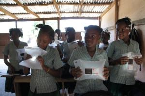 LuminAID Distribution with Grade 6