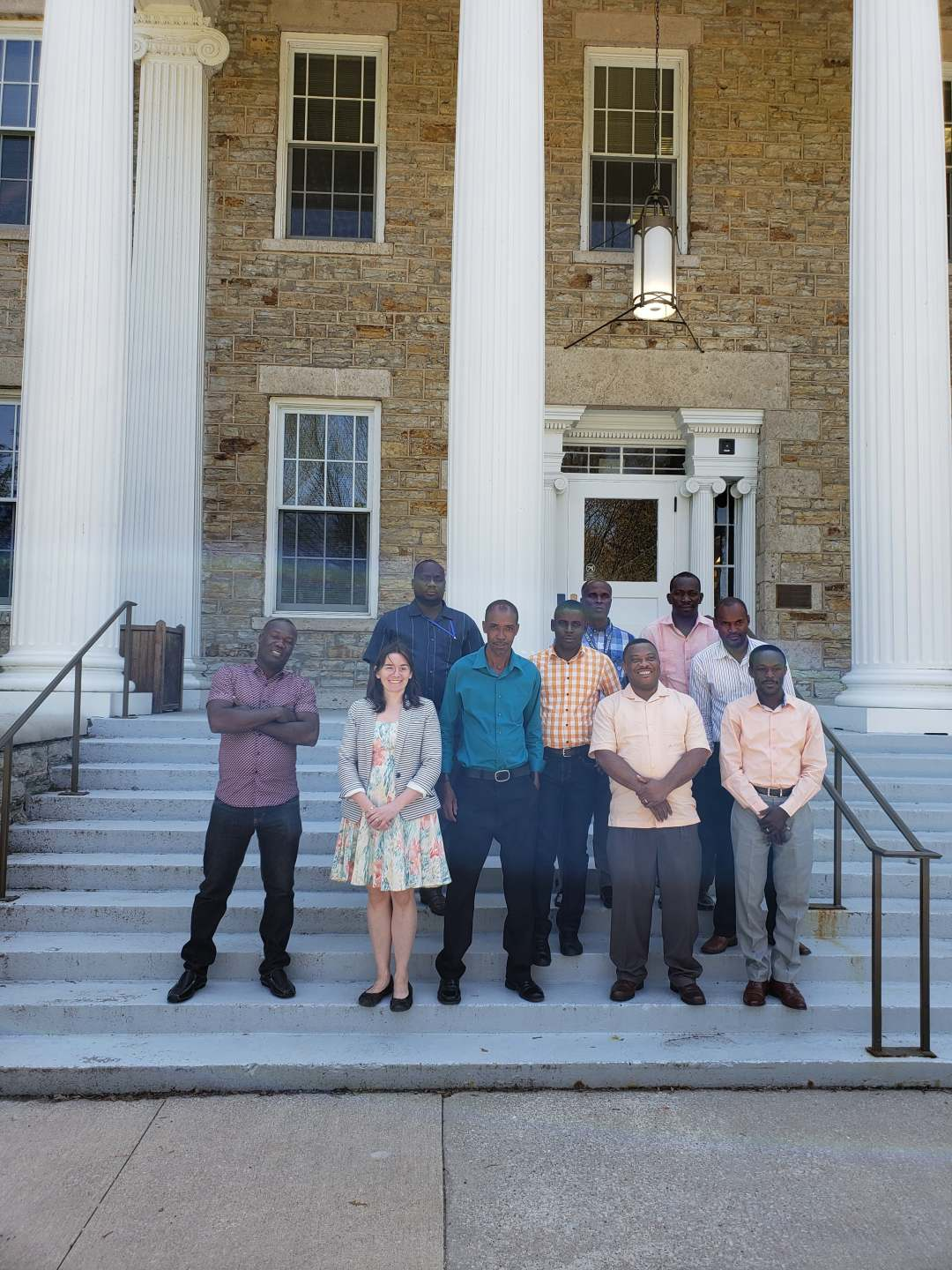 Haitian CASEC elected leaders at Lawrence University